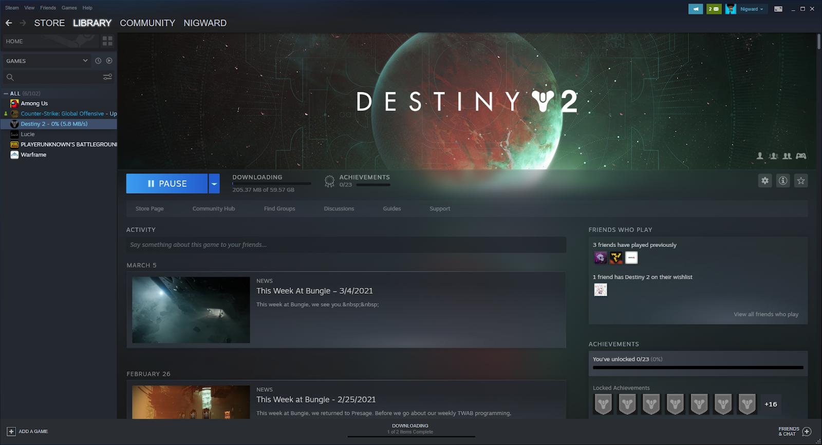 Destiny 2 support Cross-play
