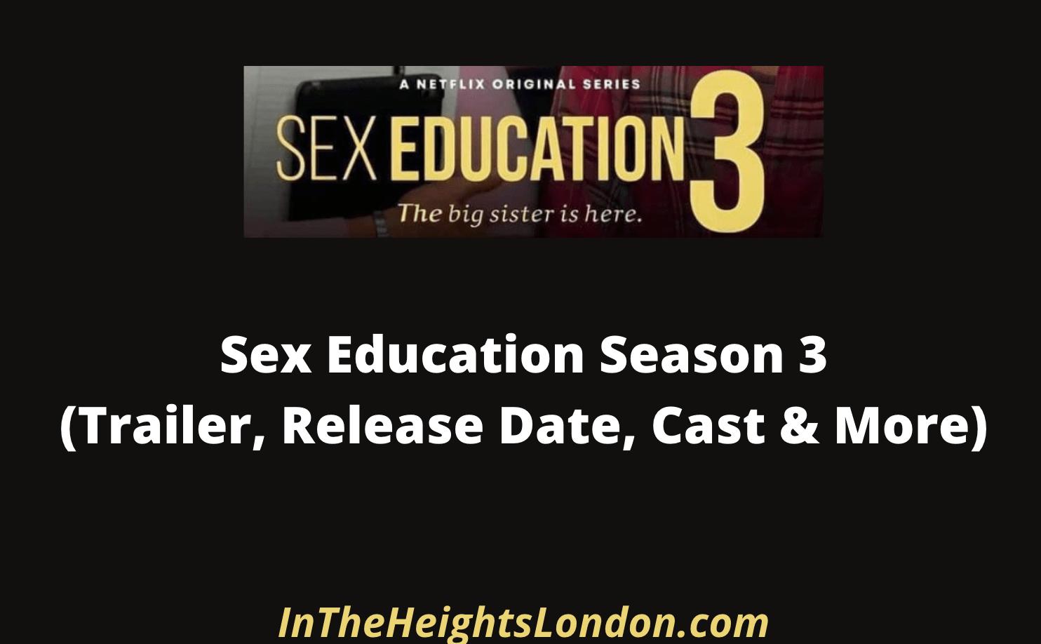 Sex Education 3