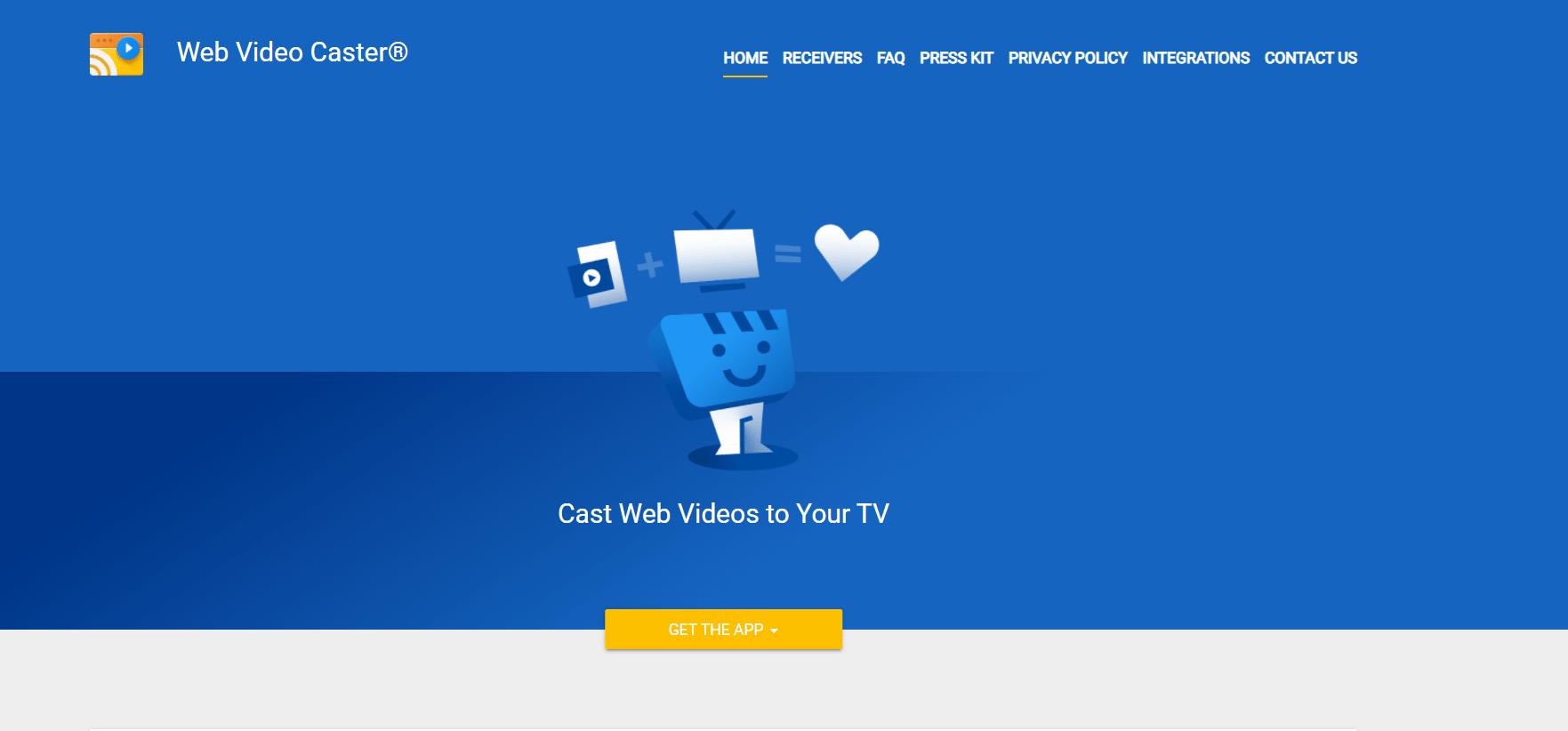 Web Video Caster